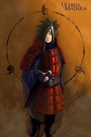 Anime: Naruto Shippuden. Name: Madara Uchiha.