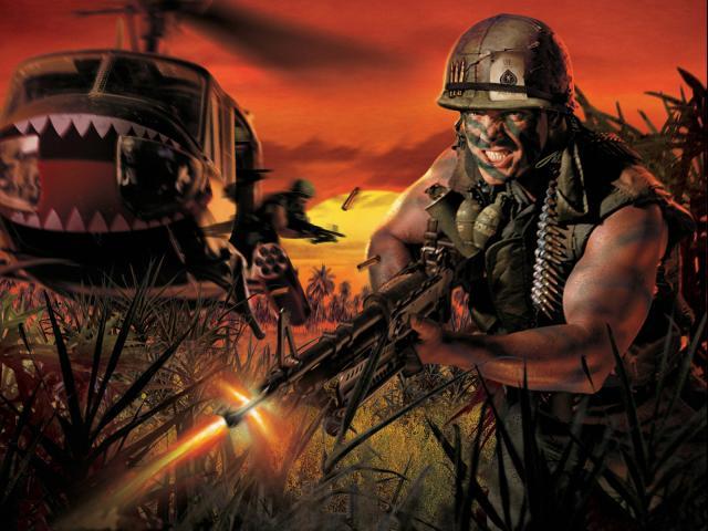 Battlefield Vietnam Hintergrundbilder.